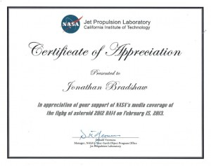 NASA Cert